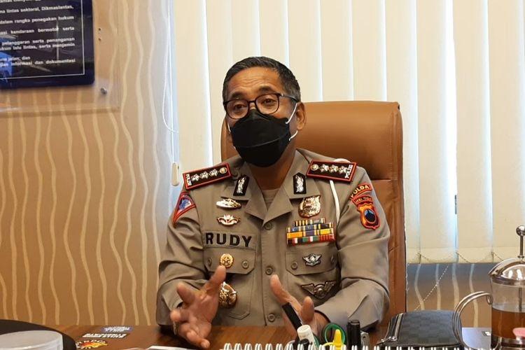 Direktur Lalu Lintas (Dirlantas) Polda Jateng, Kombes Pol Rudy Syafirudin ditemui di kantornya, Jumat (9/4/2021)