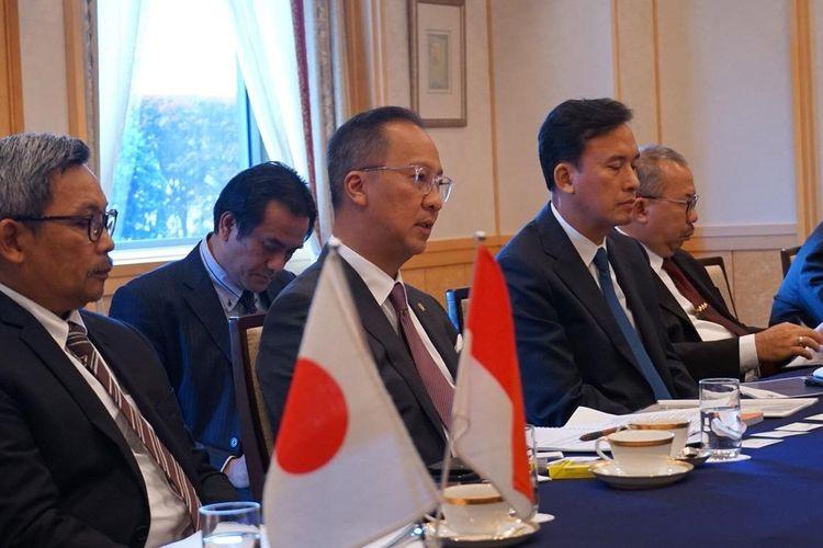 Menperin Agus Gumiwang melakukan one on one meeting dengan beberapa perusahaan otomotif di Jepang