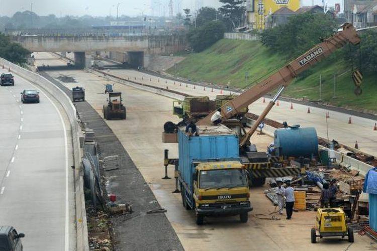 Ilustrasi: pembangunan jalan tol