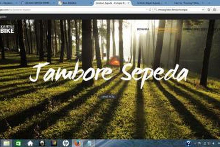 Harian Kompas akan menggelar Jambore Sepeda