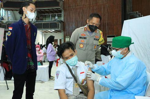 Gelar PTM Terbatas walau Masih PPKM Level 4, Vaksinasi Pelajar di Banjarmasin Dipercepat