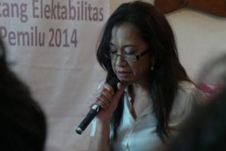 Direktur Focus Survei Indonesia (FSI) Nelly Rossa Juliana