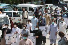 Protes Kekurangan APD, Dokter dan Staf Medis Pakistan Bentrok dengan Polisi