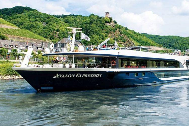 Kapal pesiar sungai Avalon Waterways.