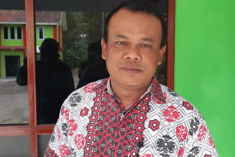 Sekretaris Desa Sidorejo, Sri Widakdo ditemui di Kantor Desa Sidorejo, Klaten, Jawa Tengah, Selasa (17/11/2020).