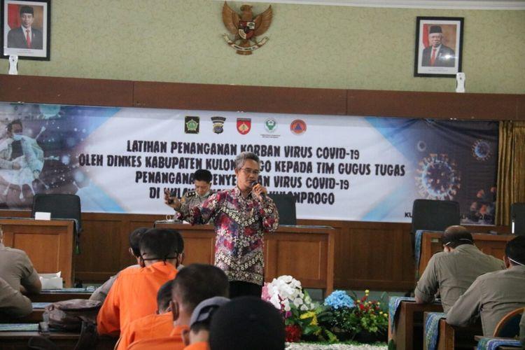 Kabid Pelayanan Kesehatan Dinas Kesehatan Kulon Progo, DIY, Ananta Kogam Dwi Korawan.