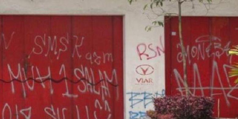 Ilustrasi vandalisme