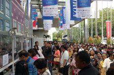 Hari Pertama Digelar, Antusiasme Pengunjung Kompas Travel Fair di Luar Dugaan