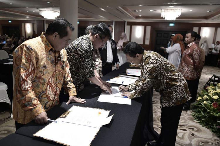 Kementerian Pendidikan dan Kebudayaan dan Kementerian Ristek Dikti bersepakat melaksanakan program Pendidikan Profesi Guru dalam Jabatan 2018.