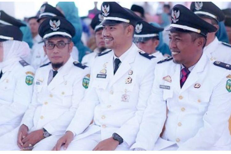 Agenda Pelantikan Pengurus  Asosiasi Pemerintah Desa Seluruh Indonesia (Apdesi) Kabupaten Luwu periode 2020-2025 yang akan dilaksanakan Senin (23/03/2020) mendatang terpaksa ditunda guna mengantisipasi penyebaran Corona Virus Disease -19 (Covid-19).