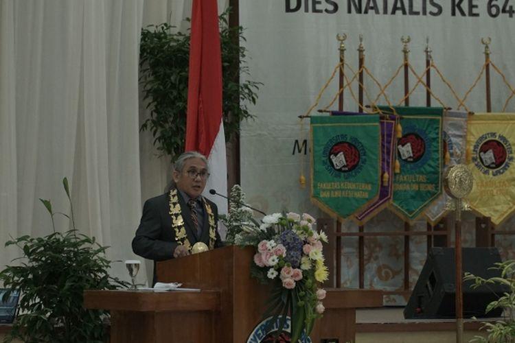 Rektor UKSW Salatiga Neil Semuel Rupidara