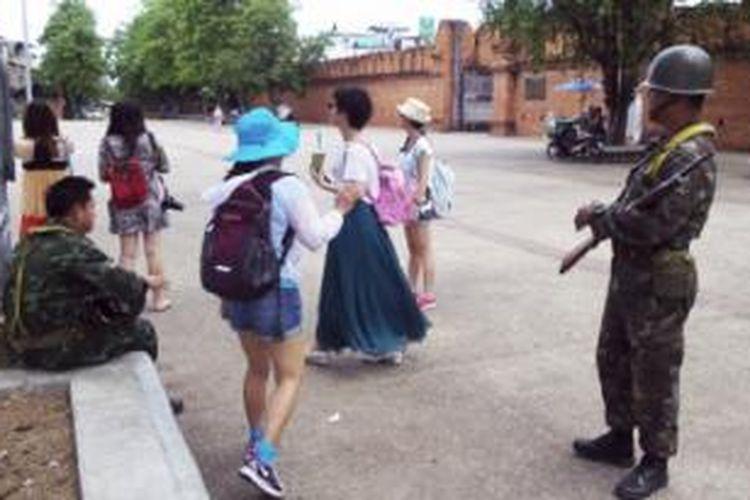 Tahun lalu krisis politik Thailand tidak mempengaruhi kedatangan turis.