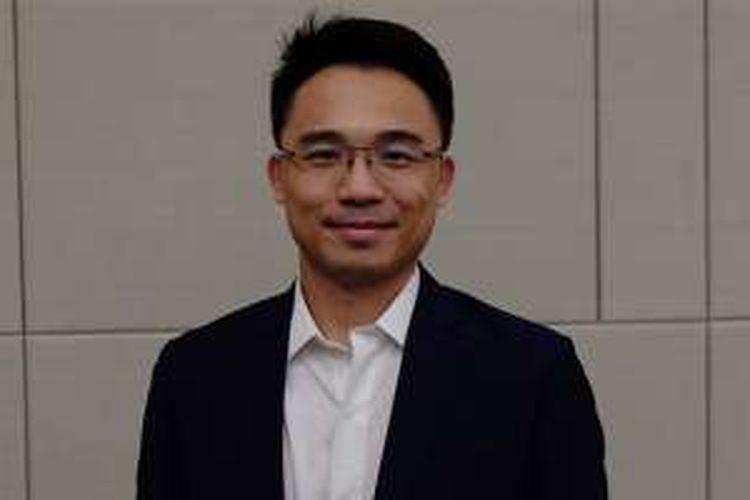 General Manager Global Markets, Alibaba Mobile Business Group, Kenny Ye saat ditemui di sela IESE, Rabu (27/4/2016).