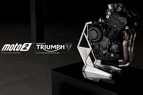 Triumph Pasok Mesin Moto2 sampai 2024