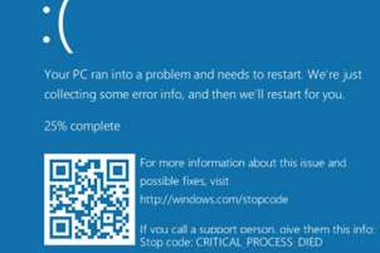 Microsoft Rancang Blue Screen Baru Windows 10 Jadi Keren