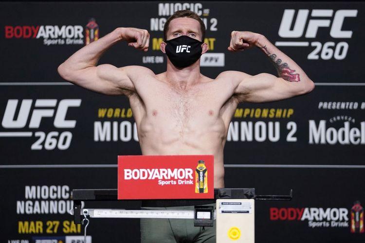 Petarung UFC asal Australia, Jamie Mullarkey, membuka main card UFC 260 pada Minggu (28/3/2021) dengan gebrakan.