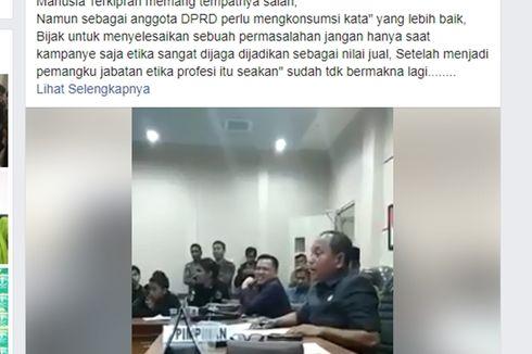 Videonya Viral karena Ucapan Tak Senonoh, Begini Tanggapan Wakil Ketua DPRD Luwu Timur