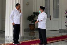 Jokowi Bertemu Jusuf Kalla di Gedung Agung Yogyakarta, Mengobrol Selama Sejam