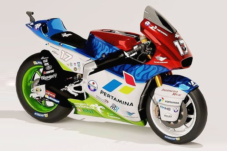 Livery Mandalika Racing Team