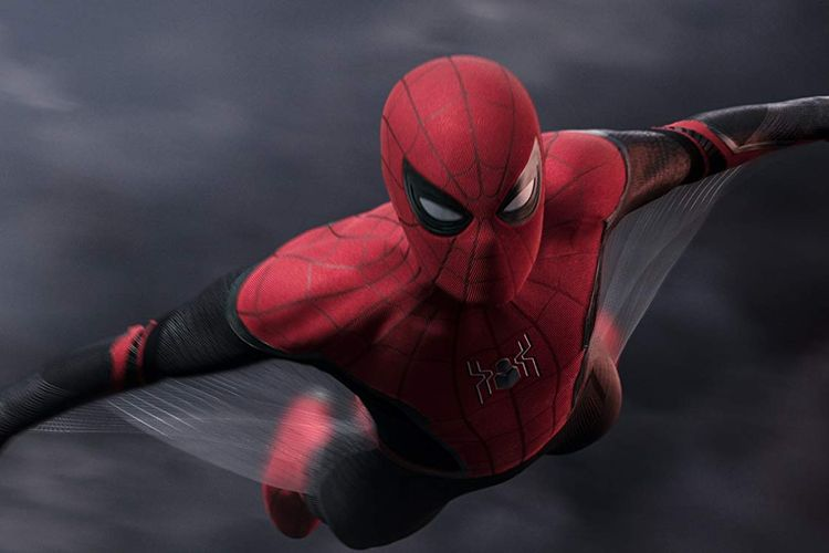 Peter Parker dalam film Spider-Man: Far From Home.