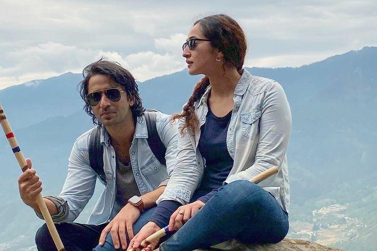 Ruchikaa Kapoor dan Shaheer Sheikh