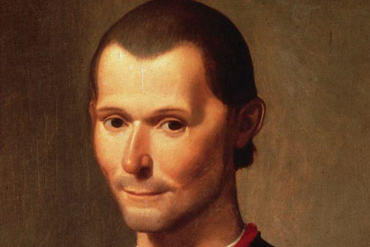 Niccolo Machiavelli, filsuf Italia pengarang buku terkenal Il Principe.