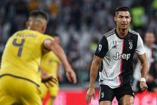 Juventus Vs Verona, Gol Ramsey dan Ronaldo Menangkan I Bianconeri