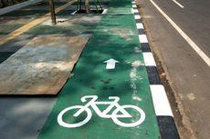 Bulan Depan, Kendaraan Masuk Jalur Sepeda Kena Denda Rp 500.000