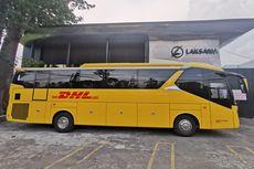 Bus Kuning Punya DHL Keluar Karoseri Laksana