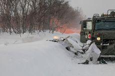 Pasukan Khusus Rusia Disebut Pakai Tanda Palang Merah untuk Latihan Menyergap Brutal