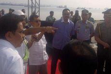 Di Terminal Teluk Lamong, JK Serius Dengar Paparan Pelindo III