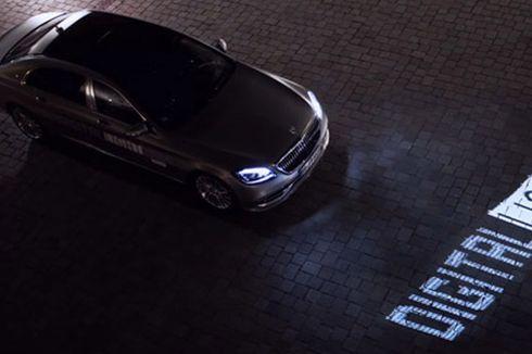 Teknologi LED Canggih Ini Bikin Mobil Bisa Kirim Pesan