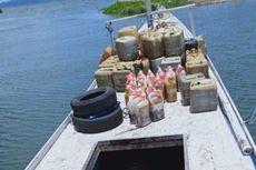 Kronologi Polisi Gagalkan Penyelundupan 1,7 Ton Merkuri, Kejar hingga Tembaki Kapal Penyelundup