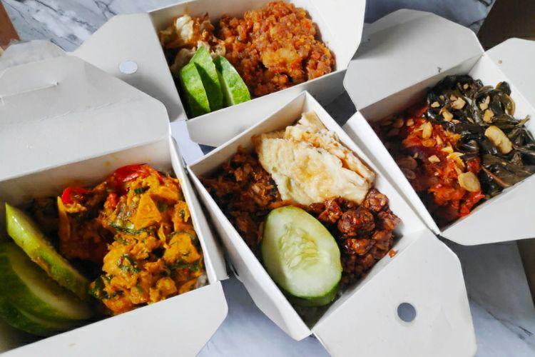 Berbagai makanan dari Dailybox.