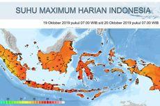 Ini Penyebab Cuaca Jakarta Tembus 36,5 Derajat Celcius Siang Tadi