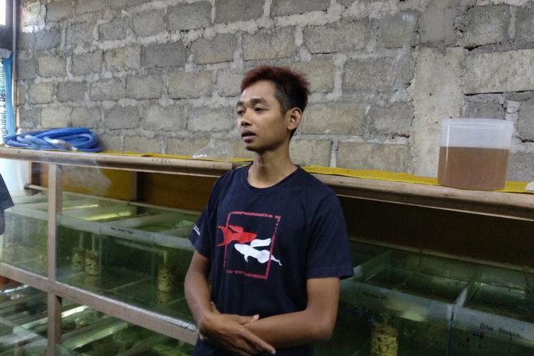 Suranto Surip dan Ikan Guppy nya yang dikembangkan di Kapanewon Gedangsari, Gunungkidul