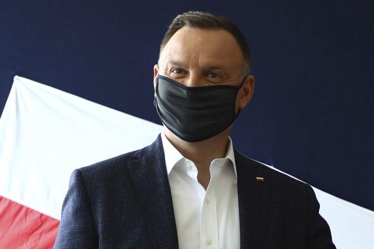 Presiden Polandia Andrzej Duda pada 28 Juni 2020.