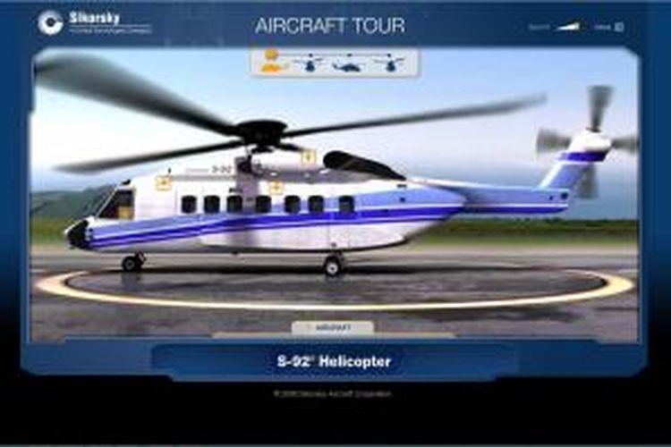 Helikopter Sikorsky S-92