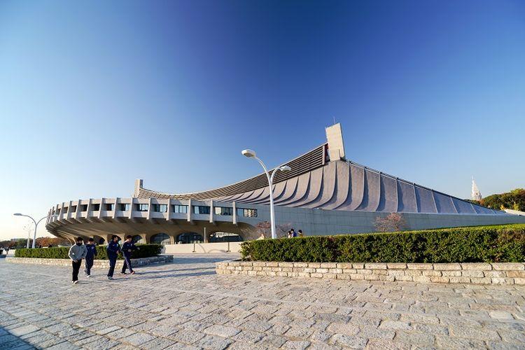 Yoyogi National Gymnasium, sebuah bangunan yang sempat menjadi stadion untuk Olimpiade Musim Panas 1964 yang digelar di Jepang.