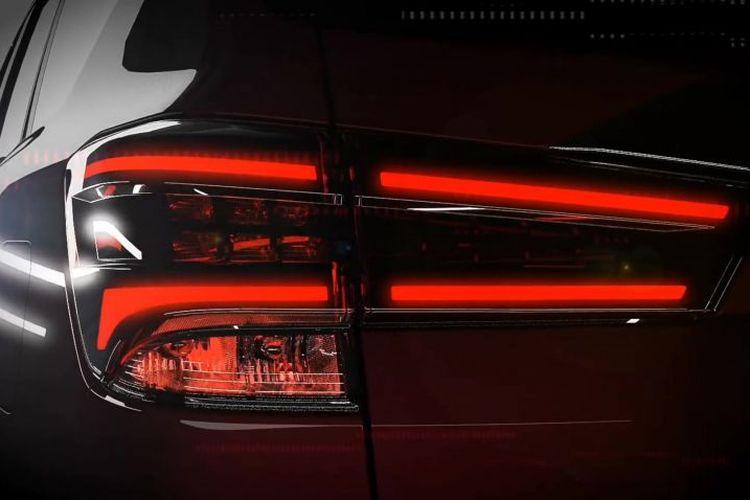 Ilustrasi lampu belakang Nissan Terra terbaru.