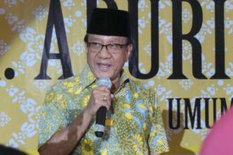 Ketua Dewan Pertimbangan Partain Golkar Akbar Tanjung.