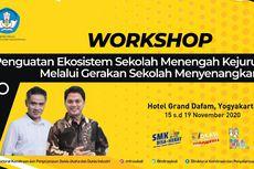 Workshop CEO SMK, GSM: Kualitas Pendidikan Kita Tertinggal 50 Tahun