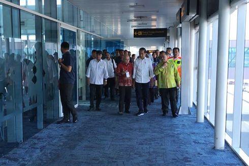 Jokowi Sebut Masih Perlu Infrastruktur Pendukung di Bandara Depati Amir