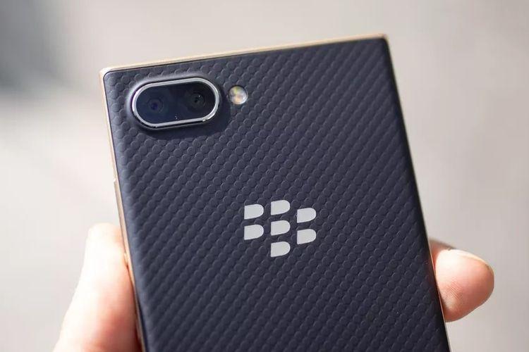 penampakan ponsel Blackberry