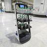 Haji 2021, Pembagian Air Zamzam Dilayani Robot