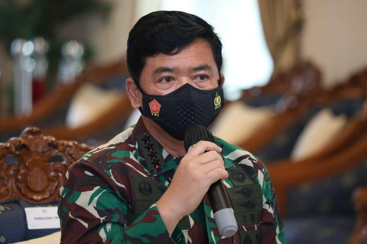 Indonesian military chief Air Marshal Hadi Tjahjanto on Saturday  (12/6/2021).