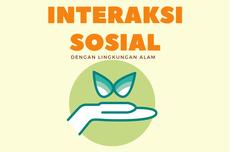 Penjelasan Interaksi Sosial dan Lingkungan Alam