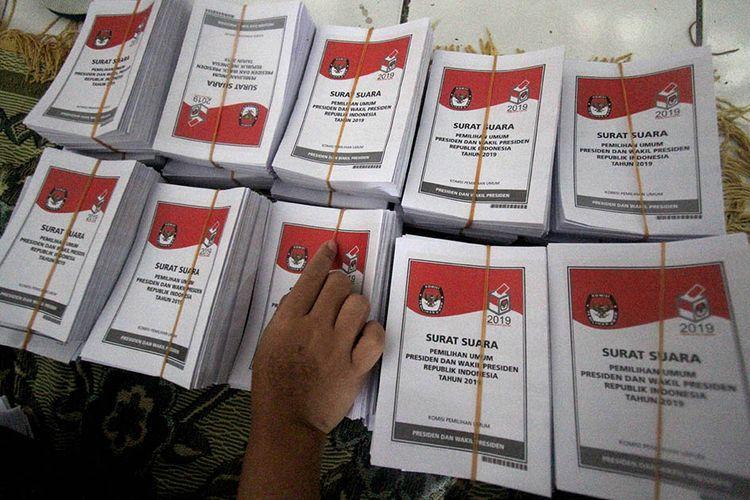 Kpu Produksi Surat Suara Pemilu Rampung