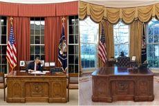 Beda Obama dan Trump, Ada di Ruang Oval