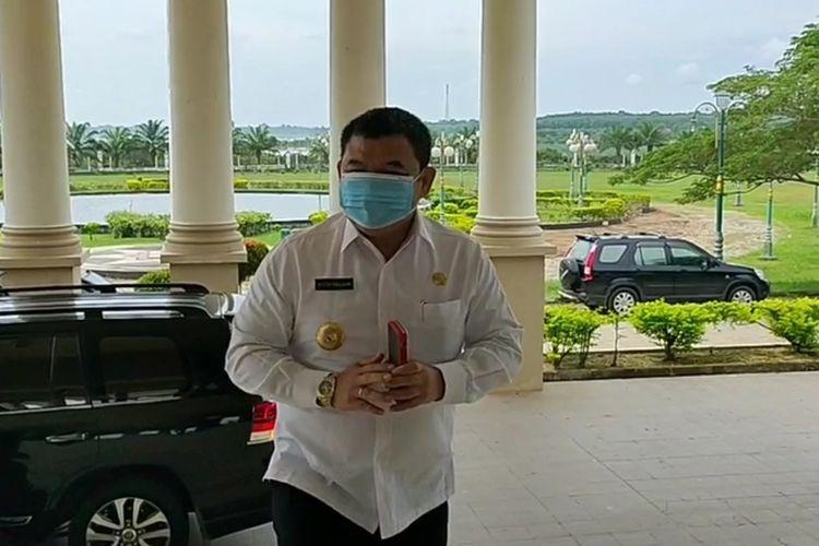Bupati Ogan Ilir HM Ilyas Panji Alam
